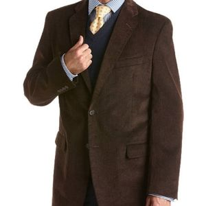 PRONTO UOMO Brown Corduroy Sportcoat 38R